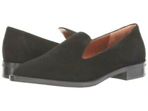 NEW Aquatalia Golda Black Suede Loafers