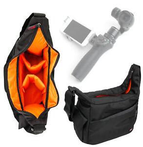 Premium-Black-Orange-Satchel-Messenger-Bag-for-DJI-Osmo-Handheld-4K-Camera
