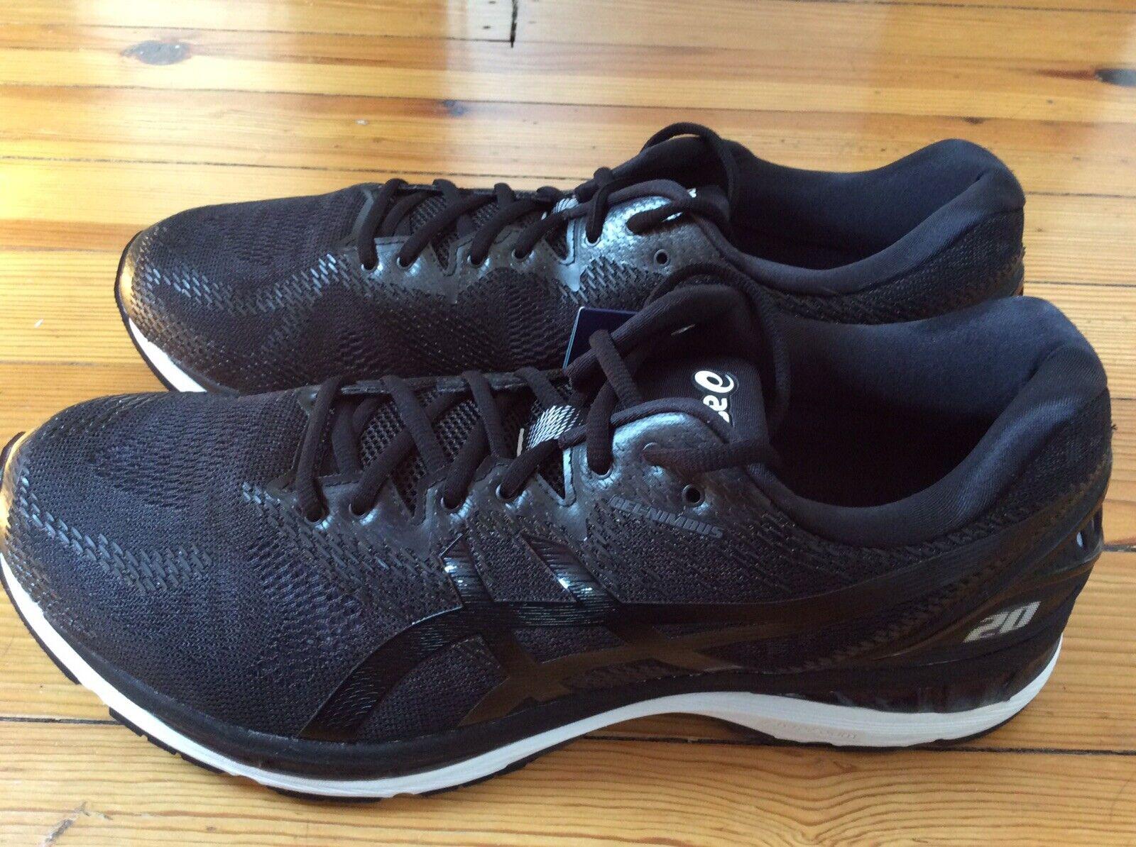 Nuevo Asics Gel-Nimbus 20 Para hombres Zapatos para Correr-Negro-Extra Ancho 4E