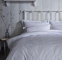 Grey Spot 100% Cotton White Bedding CASUAL SPOT Pillowcase or Duvet Cover