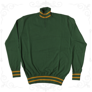 MAGLIONE LEGGERO ROUBAIX Ciclismo Vintage Cycle Made in  Training Jumper