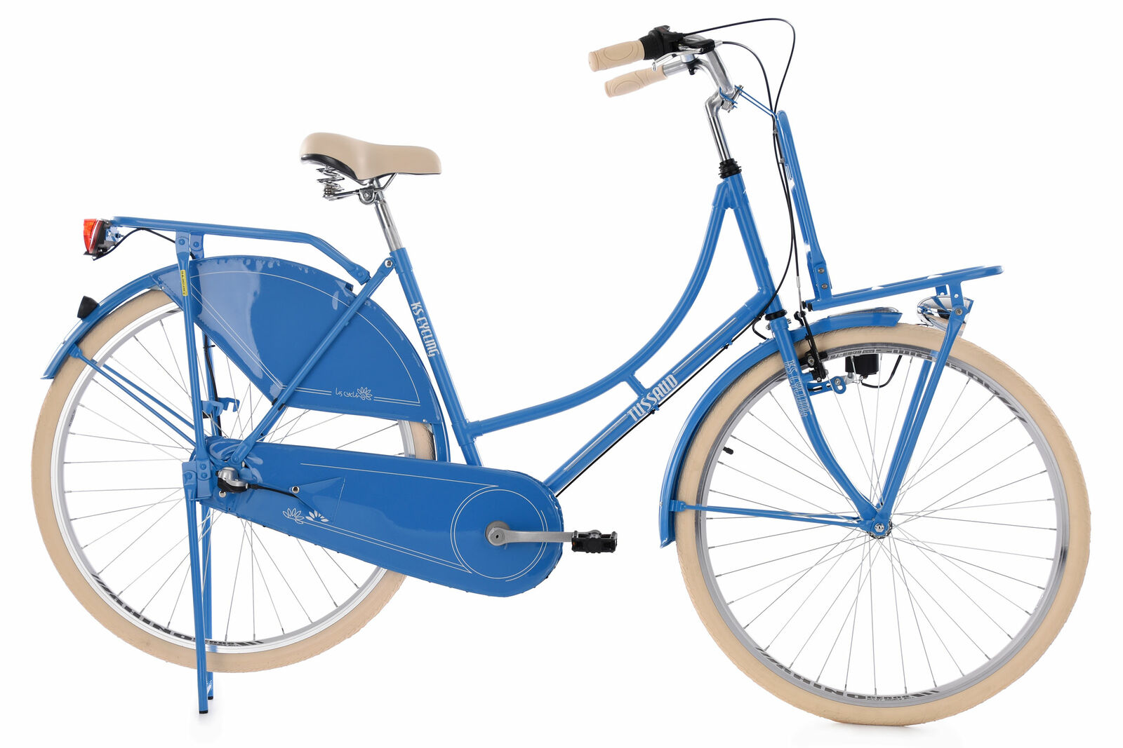 Hollandrad KS Cycling Tussaud 28 Zoll 53cm 3 Gang Damen - hellblau