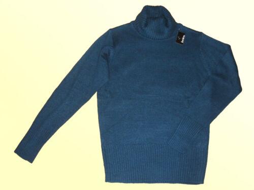 38-46 NUOVO Donna Pullover Maglione Pullover M collo alto Inverno Pullover Tg