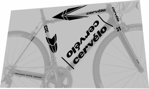 CERVELO R3 SL 2008 Frame Sticker Decal Set