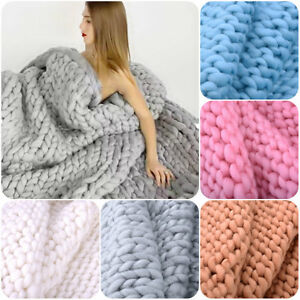 Fashion-Chunky-Hand-Knitting-Blanket-Merino-Wool-Thick-Line-Photography-Props