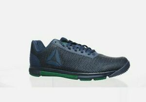 Reebok Mens Speed Tr Flexweave Blue Cross Training Shoes Size 9.5 EH1150