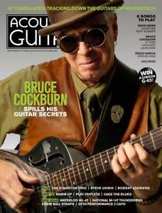 Acoustic Guitar September/October 2019 - Bruce Cockburn