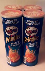 4-Pringles-Mac-Macaroni-N-Cheese-Potato-Chips-Crisps-Limited-Time-Kosher-8-2020