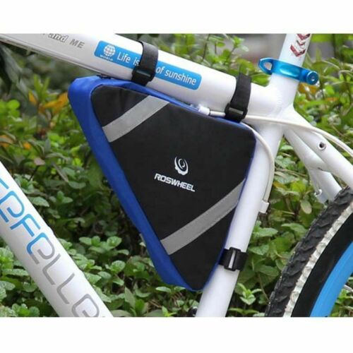 Roswheel Vélo Sac de rangement TRIANGLE Selle Cadre Réglable Cyclisme Pochette