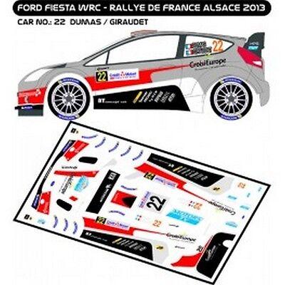 DECALS 1//43 FORD FIESTA WRC #11 TANAK RALLYE PORTUGAL 2014 MF-ZONE D43303