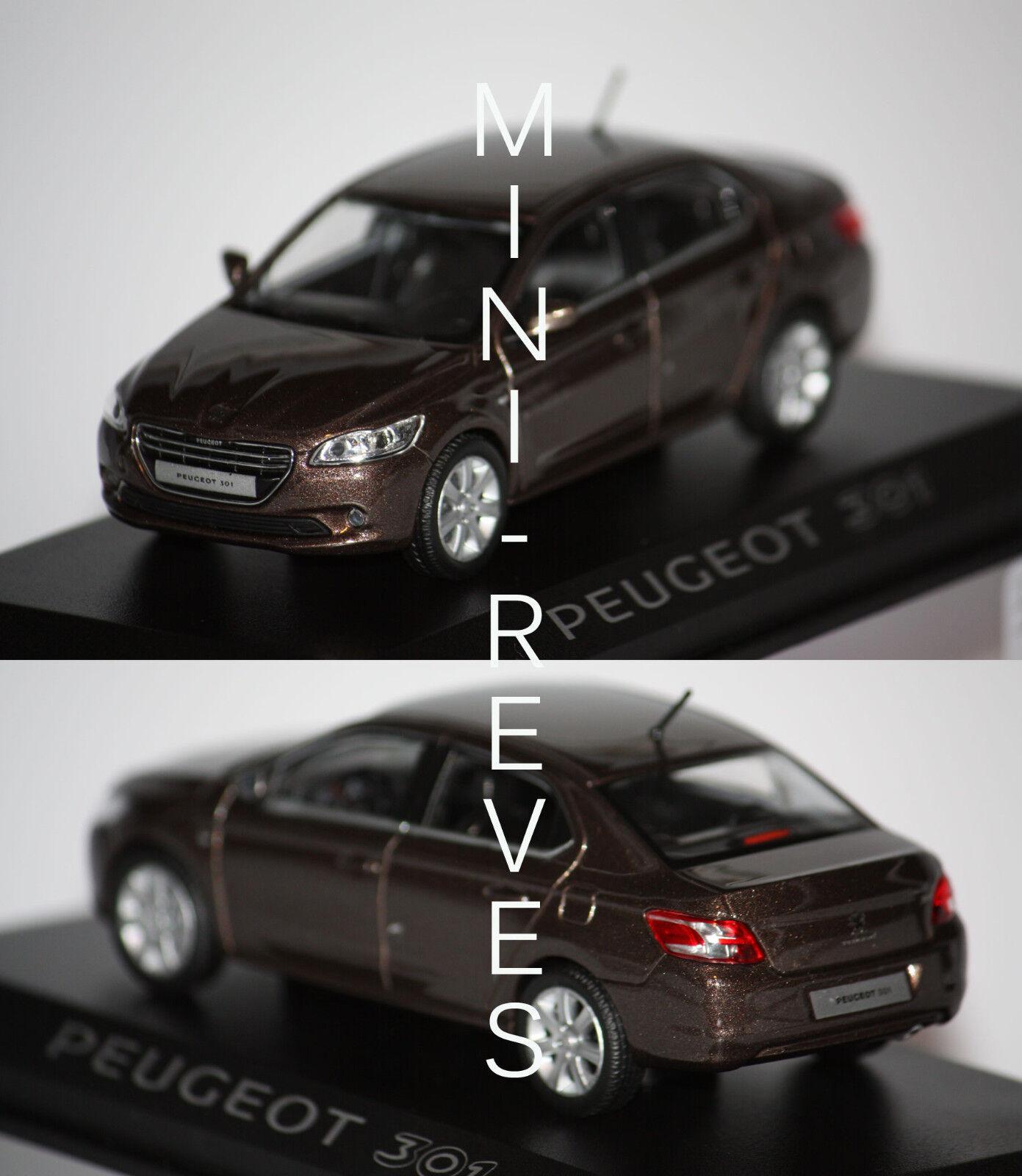 Norev Peugeot 301 2012 Marron 1 43 473100