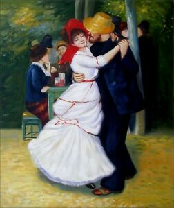 Pierre-Renoir-Dance-at-Bougival-Repro-Hand-Painted-Oil-Painting-20x24in