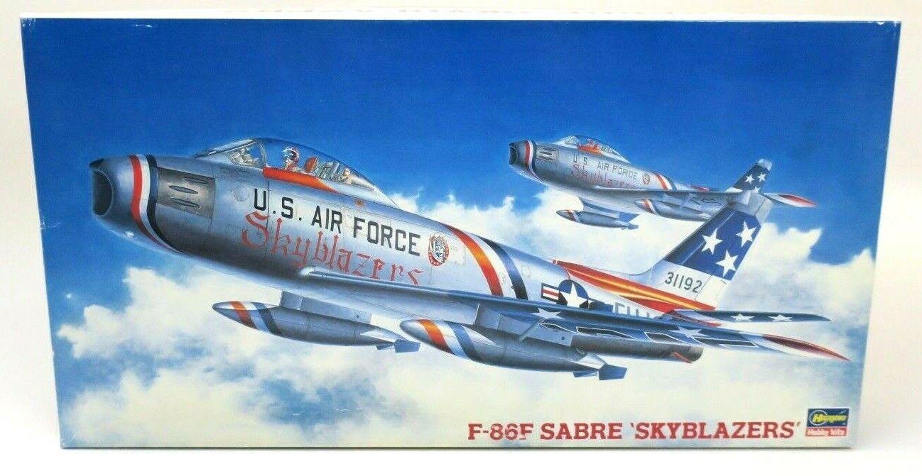 Hasegawa F-86F Sabre 'Skyblazers' 1 48 Model Kit PT116 P N  07072