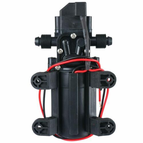 12V 1.7 GPM Self Priming Water Pressure Diaphragm Pump for Caravan//RV//Boat ESA