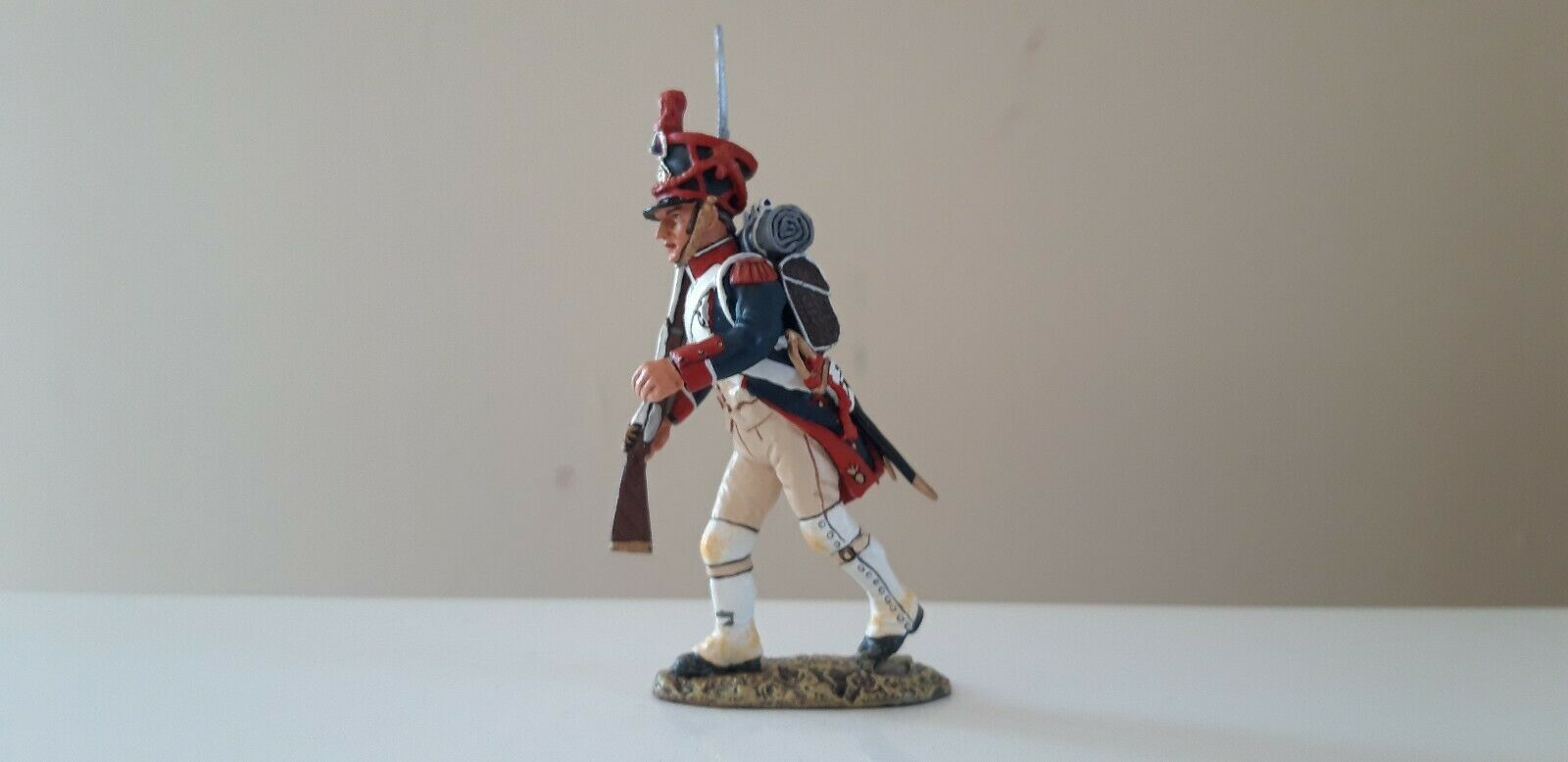 King and country Waterloo Napoleonic French guards infantry boxed 1 1 30  na14 b
