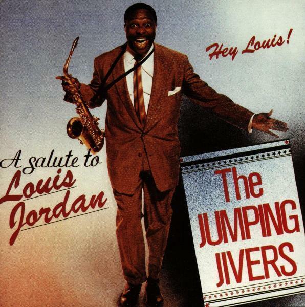 JUMPING JIVERS - HEY LOUIS! A SALUTE TO L.JORD    CD NEU