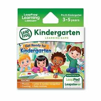 Leapfrog Learning Game: Get Ready For Kindergarten (for Leappad Tablets And Leap on Sale