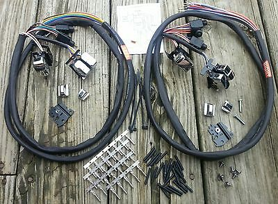 Handlebar Wiring with Black Switches for Harley Touring Radio//Cruise CLEARENCE