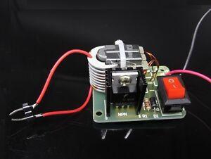 Generador del inversor de 15KV de alto voltaje módulo de bobina de ignición de chispa arco Hágalo usted mismo kit 3.7V
