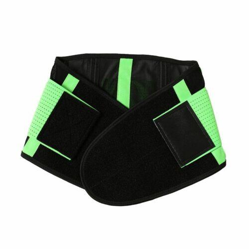 Lumbar Waist Support Brace Belt Trainer Neoprene Body Shaper Corset Fitness Belt