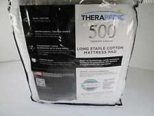 Mattress Pad Therapedic Pure Sensation Full Size Stain Resistant