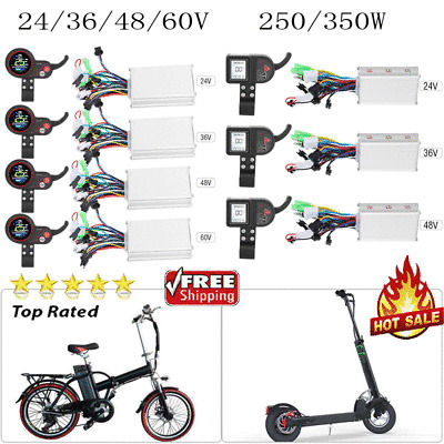 60V 250//350W Speed Controller LCD Panel Shift Switch for Electric Bike Scooter