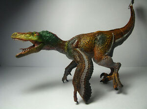 Image is loading 2016-New-Papo-Dinosaur-Toy-figure-Feathered-Velociraptor- dd782b284f