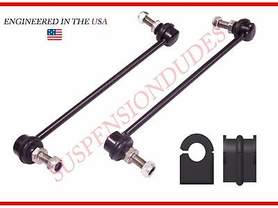 Front Bushings FOR 2007-2012 Nissan Sentra 4PC Front Sway Bar Links