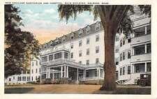Melrose Massachusetts New England Sanitarium and Hospital Postcard J54306
