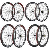 SUPERTEAM 50mm Clincher Carbon Wheels R13 Carbon Road Bike Wheelset Basalt Brake