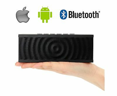 Portable Wireless Bluetooth Speaker Samsung Tablet Apple iPad iPhone X 8 Plus