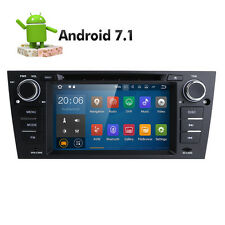 Android 7.1 Car Dash DVD Player GPS Radio for BMW E90-E93 M3 330i 320i 325i 328