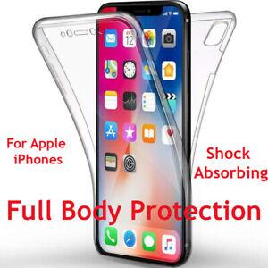 360-Clear-Body-Integral-Antichoc-Case-Pour-Apple-iPhone-6-7-8-XS-11-Pro-SE-XR