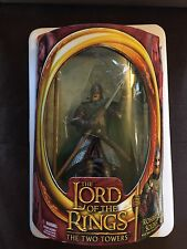 Lord of the Rings Two Towers Rohirrim Soldier half moon ToyBiz LoTR