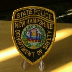 Patch Retired: State Police, New Hampshire Mini Patch