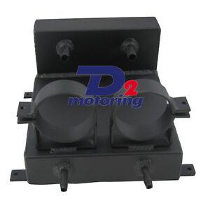 Undercar-Surge-Tank-2-Bosch-Fuel-Pump-Brackets-BLACK-Hot-D2