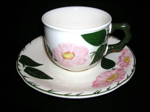 Villeroy /& Boch Wildrose Kaffeetasse mit Untertasse