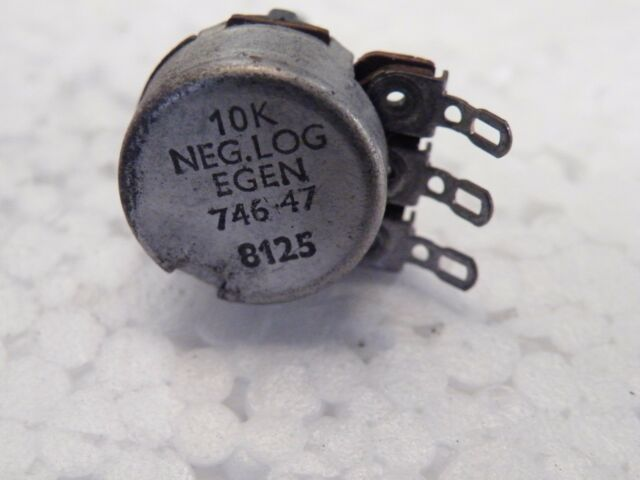 Egen 24mm Potentiometer 10K Linear 6mm spindle with D Flat CG01