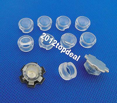 13mm *10mm Led Lens Holder 45 Degree For 1w 3w LED High Power Bead Bulb 100pcs