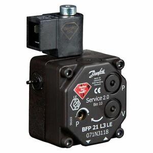 Oil Burner Pump Bfp 21L3 Leh Danfoss 071N3118