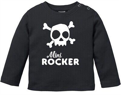 Baby Langarmshirt Mini Rocker Babyshirt Jungen Mädchen Shirt Moonworks® Hoge Standaard In Kwaliteit En HygiëNe