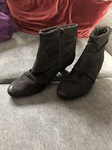 Details zu Damen Schuhe Graceland Deichmann Stiefeletten Stiefel Gr. 39