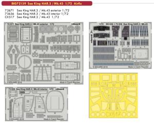 Eduard Big Ed 72139 1 72 Westland Westland Westland Sea King Mar Rey Har.3 Mk.43 Airfix  almacén al por mayor
