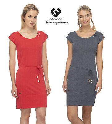 ragwear Damen Kleid SOHO Shirtkleid U-Boot-Ausschnitt ...