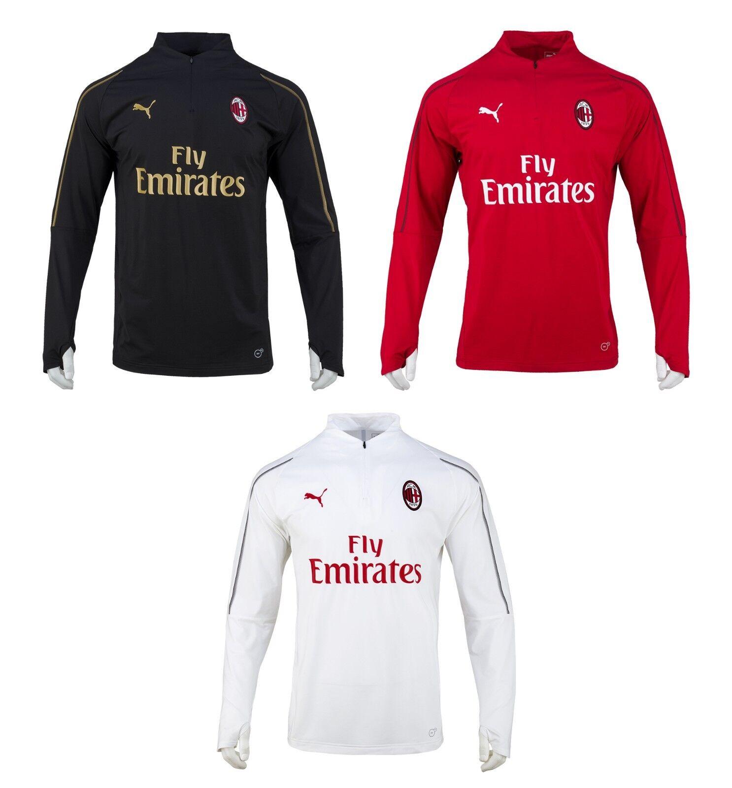 Puma AC Milan cuarto-Zip Training Top (75445703) Fútbol Camisa Jersey