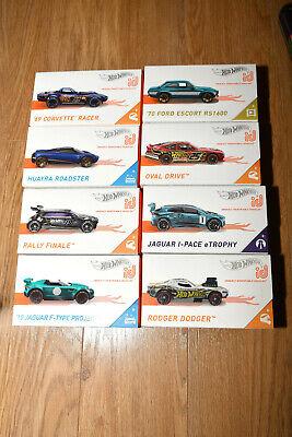Corvette Jaguar Oval etc Boneshaker Hot Wheels ID Series multi list Escort