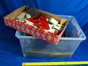 Tyco-Speedways-HUGE-TRACK-LOT-Controllers-Power-Parts-VTG-Toy-Pieces-Sets