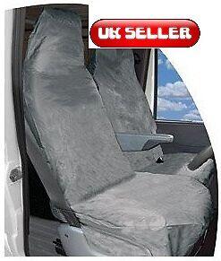 1x Single /& 1 x Twin Seat HDVGYSC Heavy Duty Van Seat Cover Set