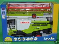 Bruder 02119 Claas Lexion 780 Terra Tec Mähdrescher NEU OVP sofort Lieferbar Spielzeug