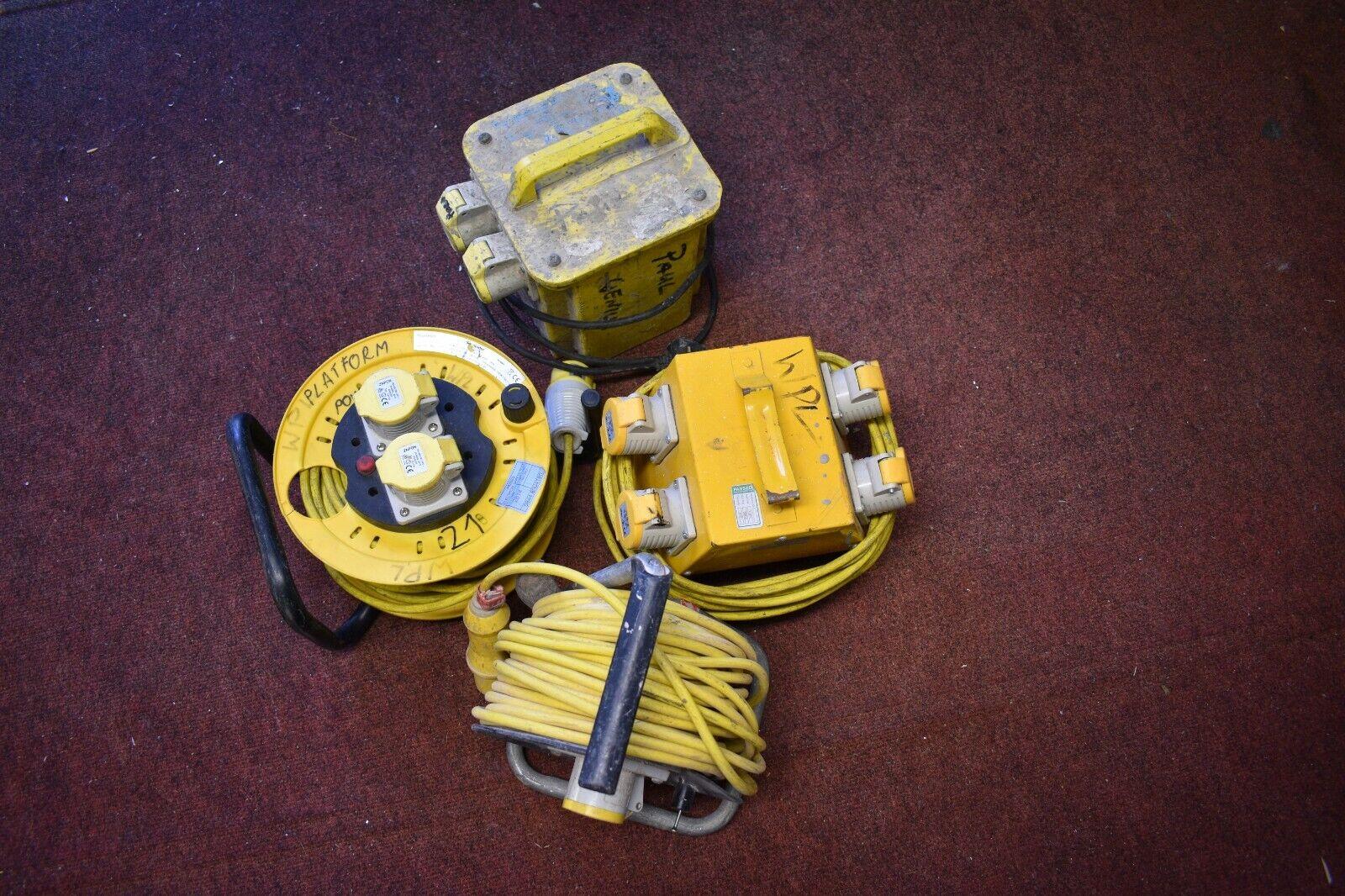 110V Transformer, Extension Lead and Splitter - Lot 3
